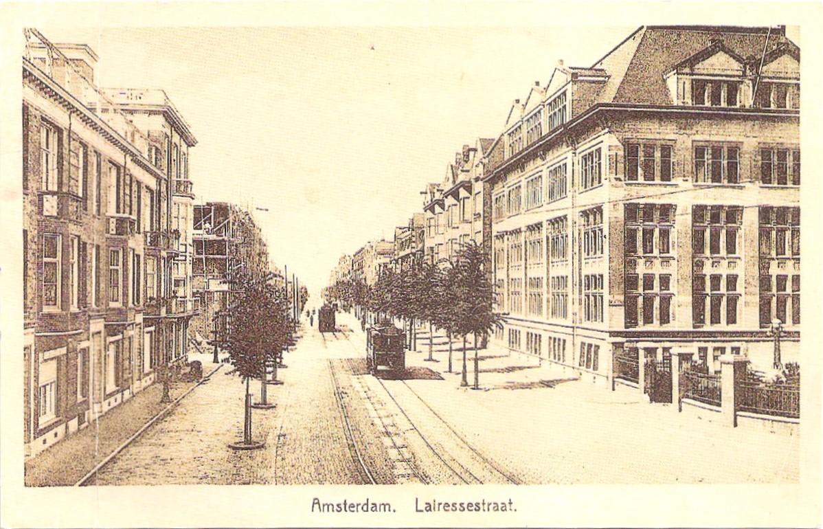 De Lairessestraat in1920